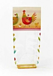 - Colorful Chickens Bag