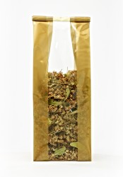 - Large Gold Bold Strips Bag (1)