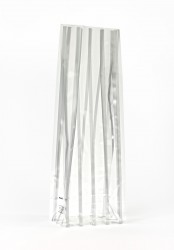 - Medium Silver Strips Bag