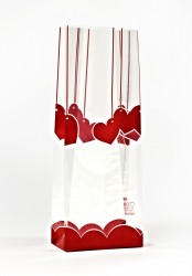 - Small Red Hearts Bag